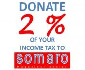Donate 2 percent