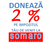 Donate 2 percent RO
