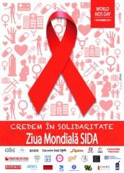 Poster Ziua mondiala SIDA - Carusel 2017